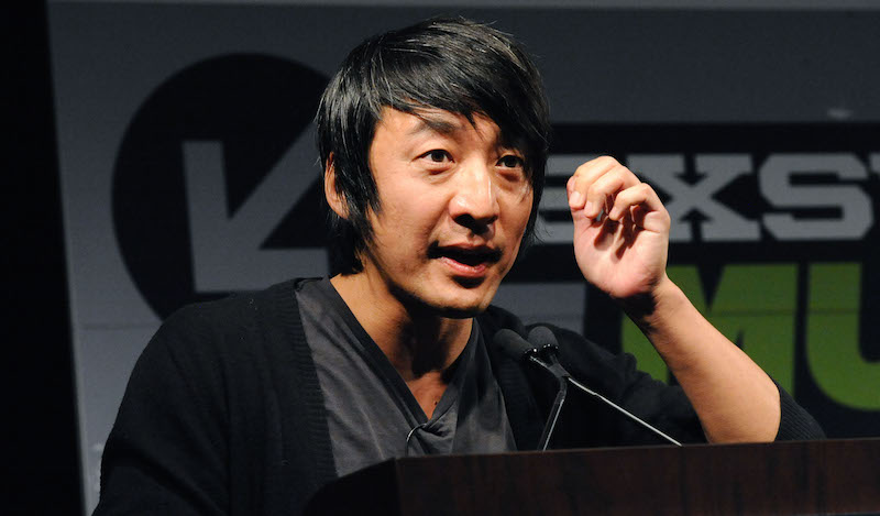 Alex Chung leads the Why Gifs? panel during SXSW 2016 on MArch 14, 2016