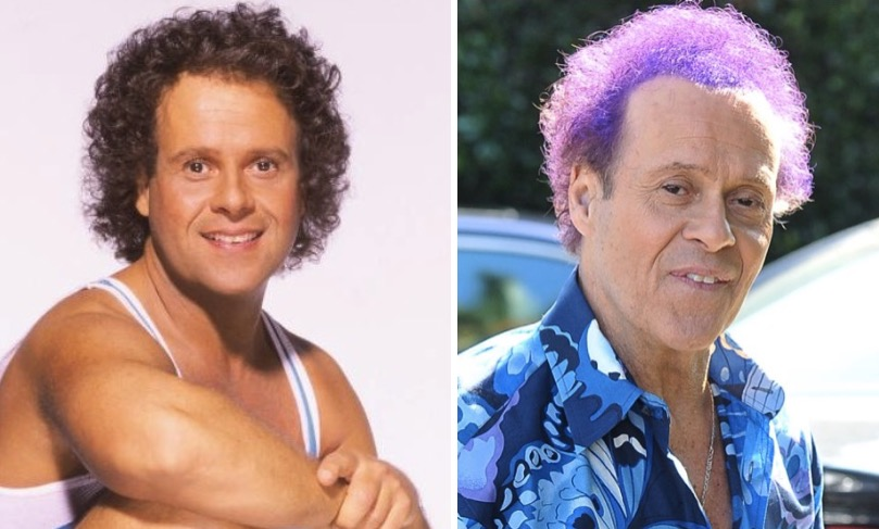 richard simmons 90s then and now