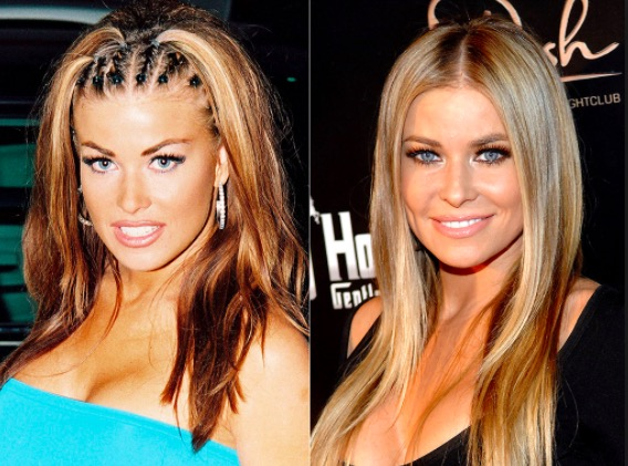 carmen electra then and now 90's