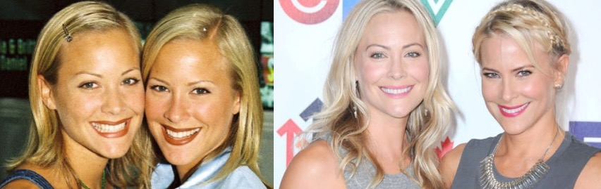 sweet valley high girls then and now