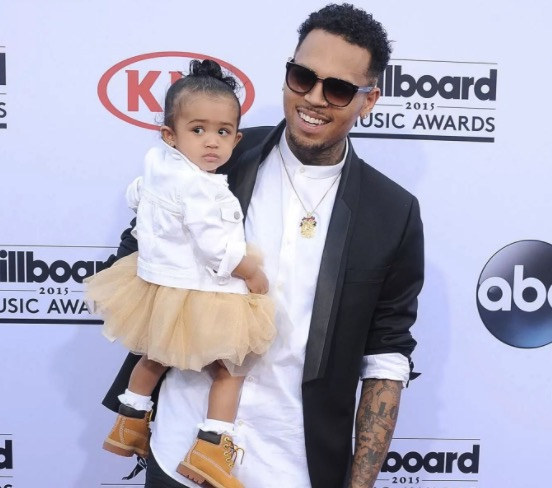 chris brown baby name revealed