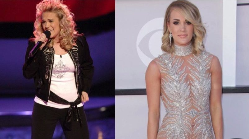 carrie underwood country star then and now