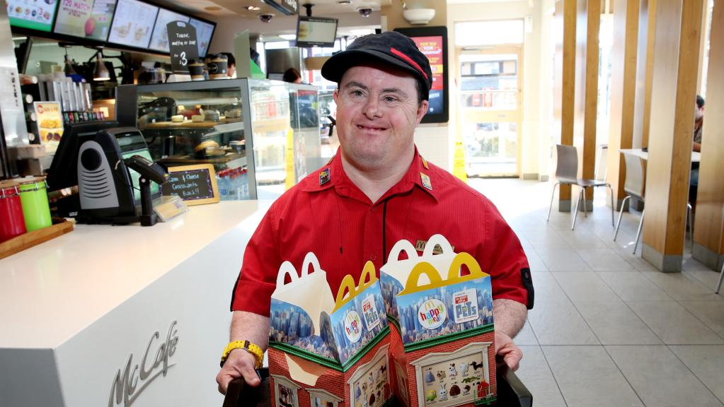 McDonald's Employee With Downs Syndrome Celebrates 30 ...
