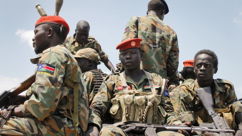armies- south sudan