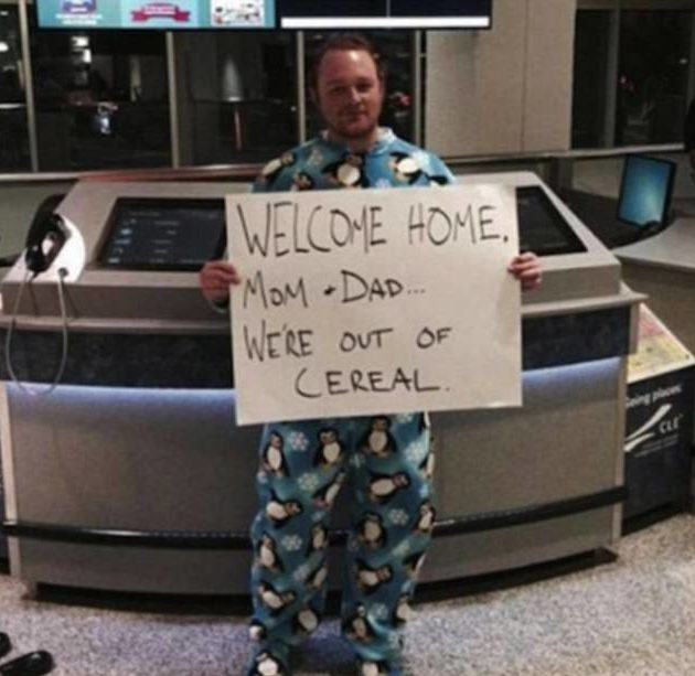 Hilarious Airport Moments Captured On Camera