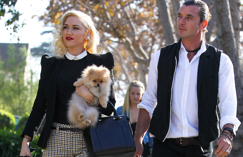 Nanny Mindy Mann with Gavin Rossdale and Gwen Stefani on Thanksgiving 2012.