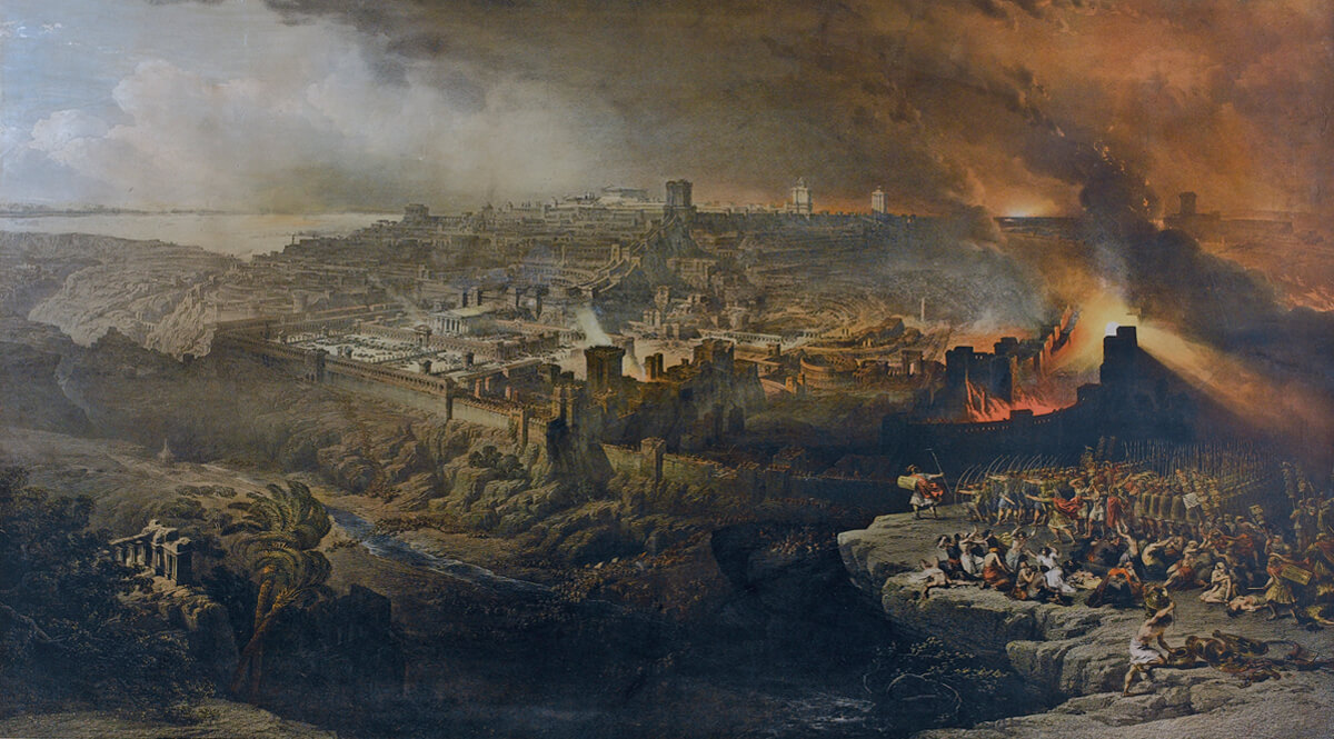 The-Siege-and-Destruction-of-Jerusalem-by-the-Romans-Under-the-Command-of-Titus-AD-70