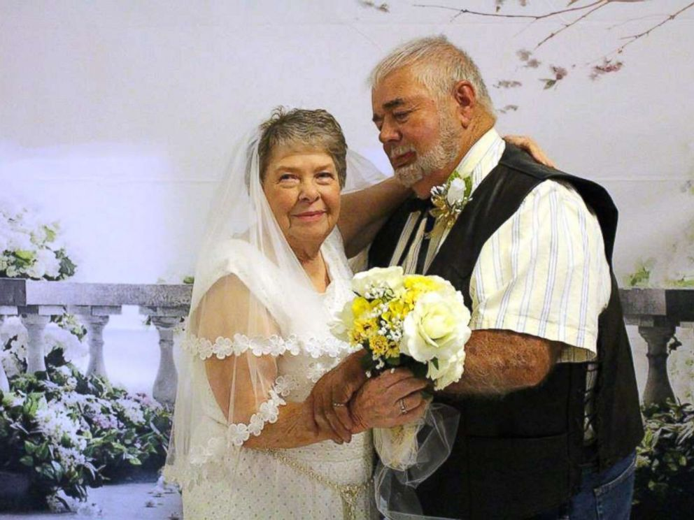wedding ideas for older adults 9 elderly couples renew marriage vows at senior care center 28150